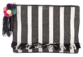 Loeffler Randall Striped Tassel Pouch