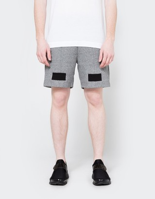 Paneled Shorts in Dark Grey $168 thestylecure.com
