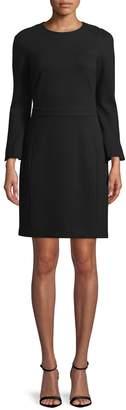 Ava & Aiden Women's Solid Crewneck Dress