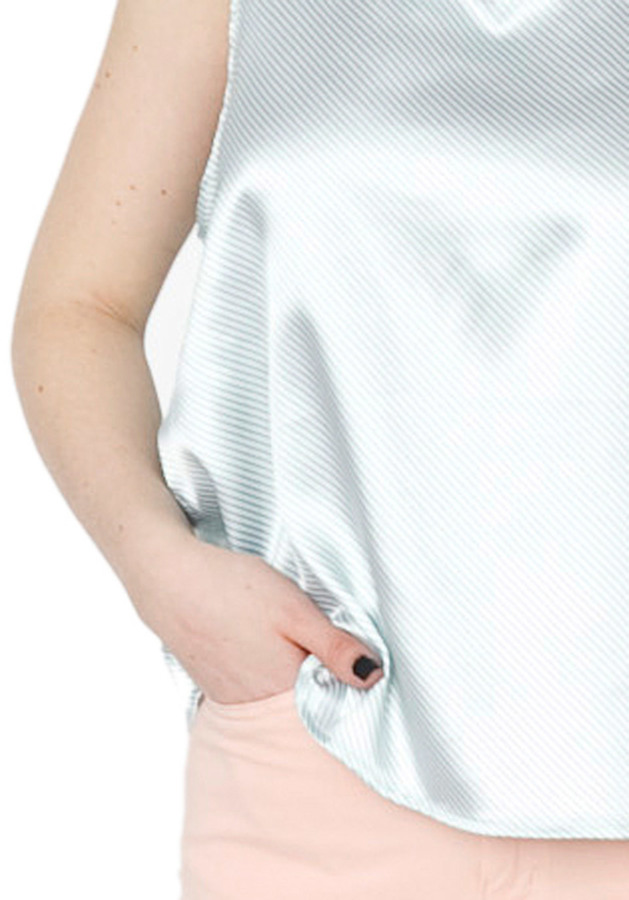 American Apparel Satin Charmeuse Loose Tank