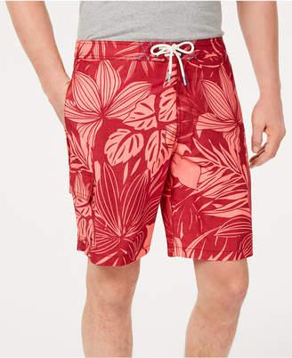 """Tommy Bahama Men Baja Mahana Tropical-Print 9"""" Board Shorts"""