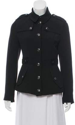 Burberry Wool Structured Jacket