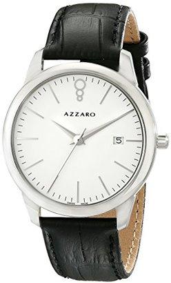 Azzaro メンズaz2040.12ab。000 Legendアナログディスプレイスイスクォーツブラックウォッチ