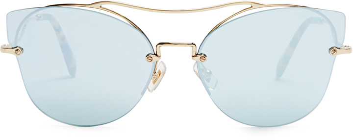 Miu Miu MIU MIU Scenique cat-eye sunglasses