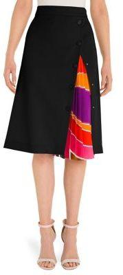 Emilio Pucci Wool & Silk Skirt
