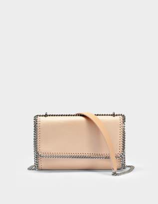 Stella McCartney Shaggy Deer Falabella Shoulder Bag in Powder Eco Leather