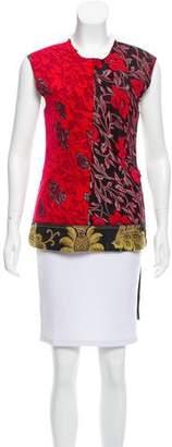 Derek Lam Sleeveless Floral Top