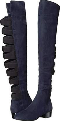 Nine West Women's Ooohaah Fabric Over The Knee Boot