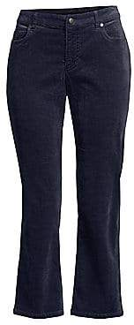 Eileen Fisher Women's Corduroy Crop Flare Jeans