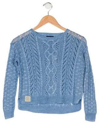 Polo Ralph Lauren Girls' Long Sleeve Sweater w/ Tags