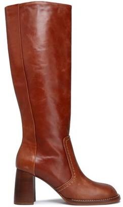 Joseph Moroder Burnished-leather Boots
