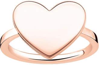 Thomas Sabo Love Bridge Heart 18ct rose gold-plated ring
