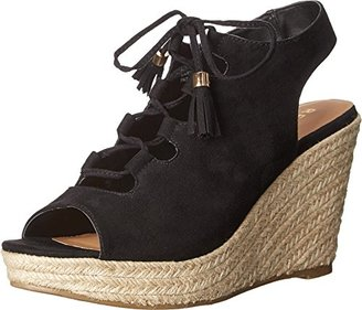Report Women's Daryll Espadrille Wedge Sandal $24.99 thestylecure.com