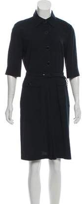 DKNY Knee-Length Wool Dress