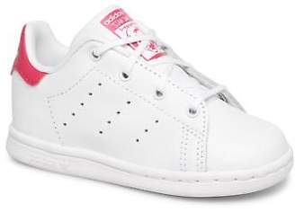 adidas Kids's Stan smith i Lace-up Trainers in White
