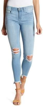 SP Black Frayed & Distressed Skinny Jeans
