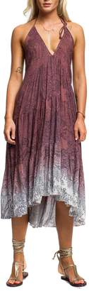 Anama Dip-Dye Paisley Dress