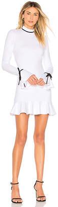 Susana Monaco Ruffle Hem Dress 18 Dress