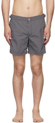Alexander McQueen Black Dot Skull Swim Shorts