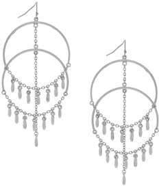 Jessica Simpson Multi-Drop Chandelier Earrings