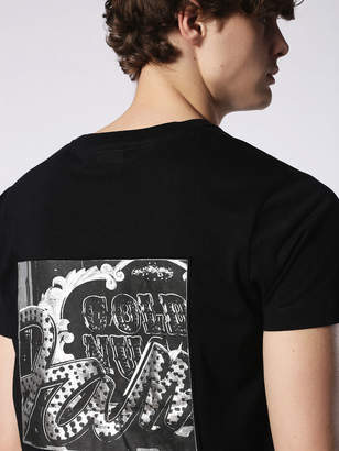 Diesel T-Shirts 0HARE - Black - L