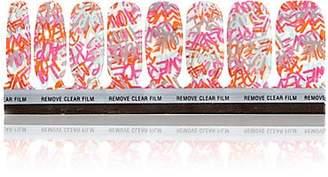 JINsoon Women's Love Graffiti Nail Decor - Graffiti
