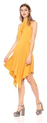 Wild Meadow Women's Scarf Hem Draped Dress L