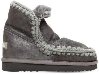 Mou 40mm Eskimo 18 Metallic Shearling Boots