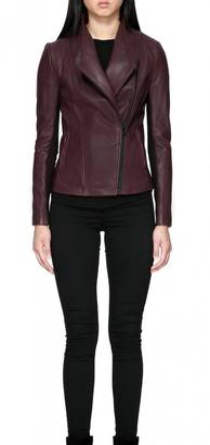 Mackage Cleo Leather Jacket $619 thestylecure.com