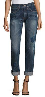 Polo Ralph Lauren Painted Slim Boyfriend Jeans $245 thestylecure.com