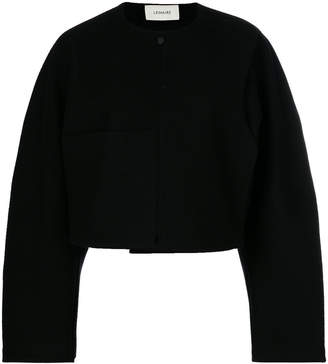 Lemaire structured cropped jacket