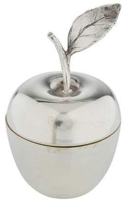 Tiffany & Co. Sterling Apple Pill Box