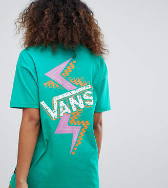 Vans Exclusive Green Archive Shatter Back Print T-shirt