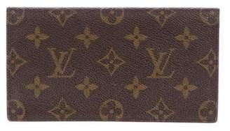 Louis Vuitton Monogram Checkbook Holder