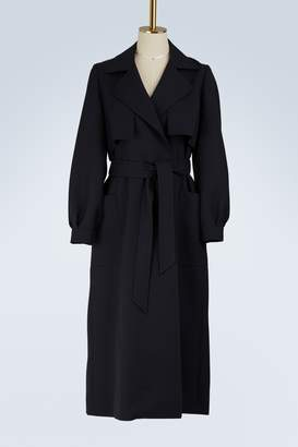 Pallas Wool trench coat