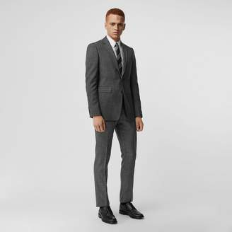 Burberry Classic Fit Melange Wool Three-piece Suit