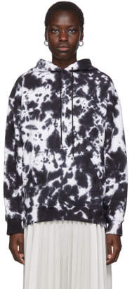 Proenza Schouler White and Black PSWL Ink Blotch Hoodie