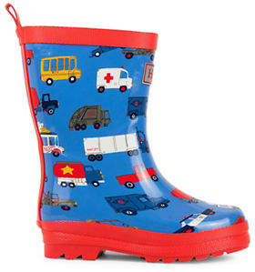 Hatley Rush Hour Rubber Rain Boots