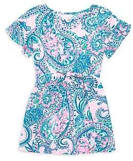 Lilly Pulitzer Little Girl's & Girl's Stasia Paisley Dress