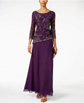 J Kara Embellished A-Line Gown $259 thestylecure.com