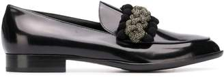 AGL braided detail loafers