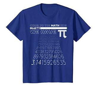Pi Come To The Math Side We Have Math Geek & Nerd T-Shirt