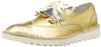 Bunker Women's Ker 32 Lace-up Shoes Gold Size: 5