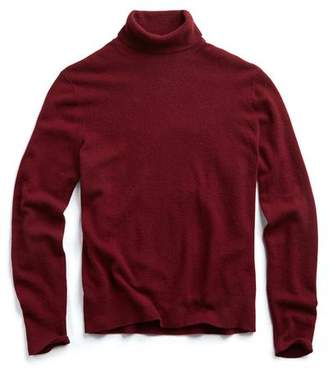 Todd Snyder Cashmere Turtleneck in Merlot
