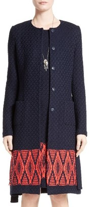 Women's St. John Collection Baruti Knit Topper $1,895 thestylecure.com