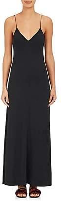 The Row Women's Guinevere Cady Slipdress - Black