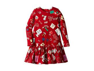 Dolce & Gabbana Knit Cat Love Dress (Toddler/Little Kids)