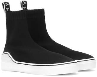 Givenchy George V stretch knit sneakers