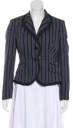 Alexander McQueen Long Sleeve Striped Blazer w/ Tags