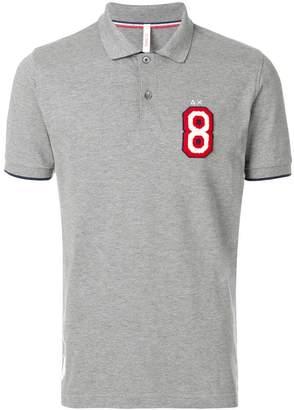 Sun 68 front logo polo shirt